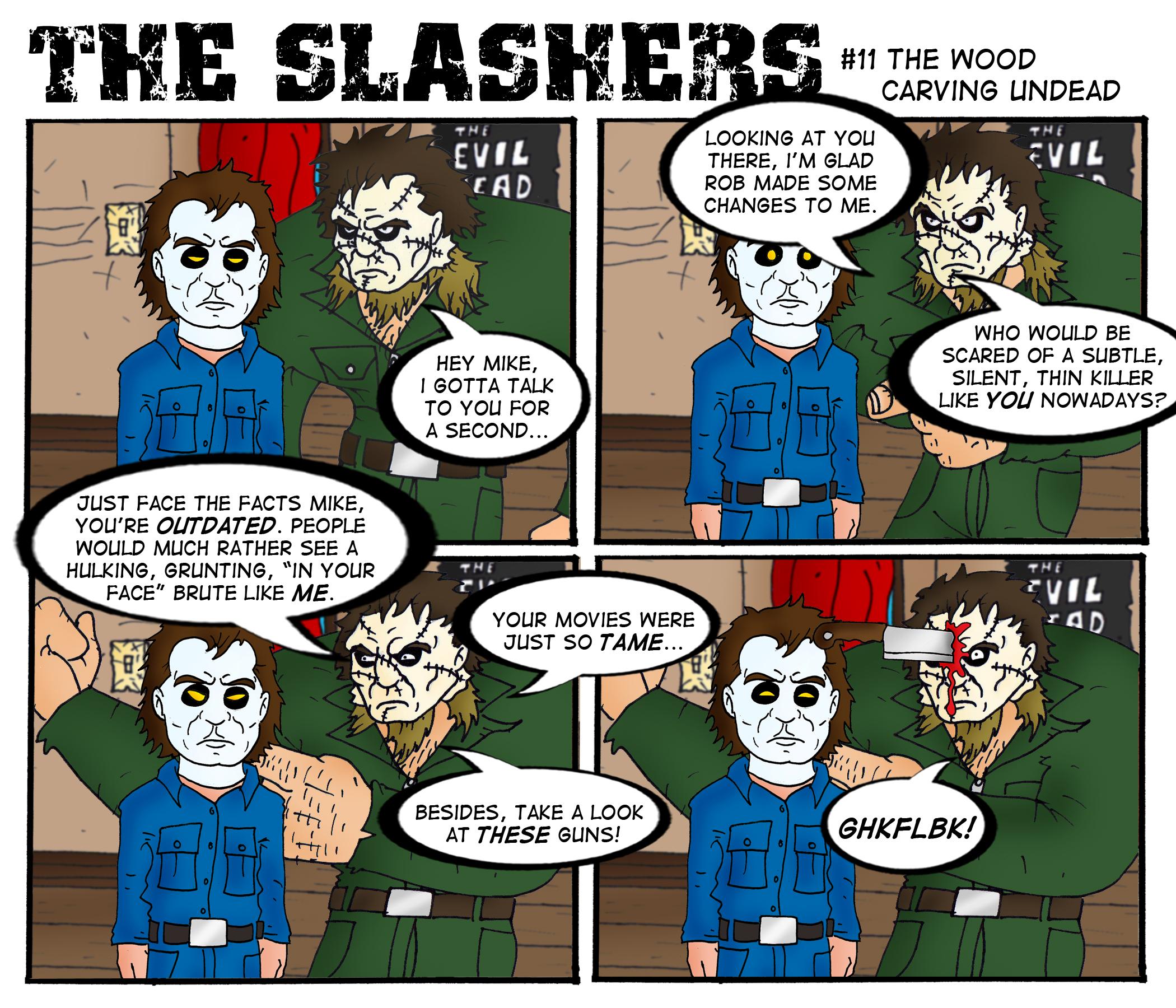 The Slashers #1... Jason Vs Michael Myers Comic