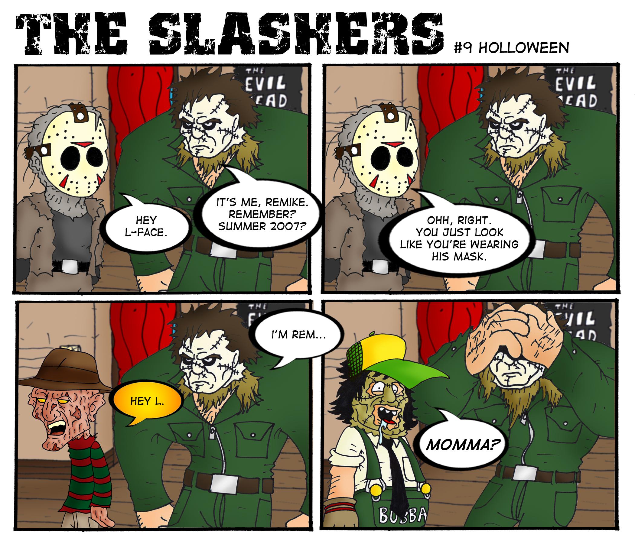 halloween   The... Jason Vs Michael Myers Comic